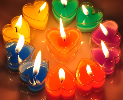candle passion love spells